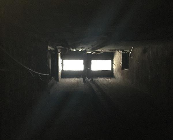 Flatiron basement subway grates
