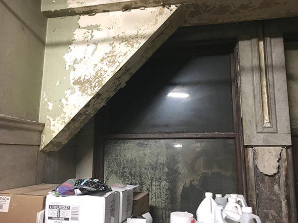 Flatiron basement bathroom