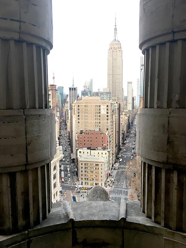 Flatiron 20th Floor Balcony